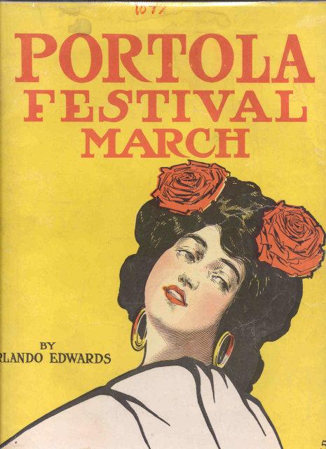 Portola Festival Spanish Dancer Music Sheet