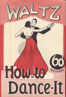 Vintage HOW TO DANCE IT DANCING Instruction Kit 1955