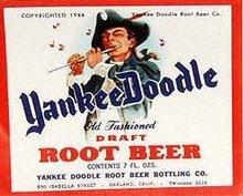 Yankee Doodle Soda Labels