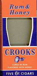 Crooks Rum & Honey Cigar Box