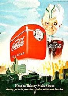 VINTAGE COCA-COLA SODA TIME MAGAZINE AD
