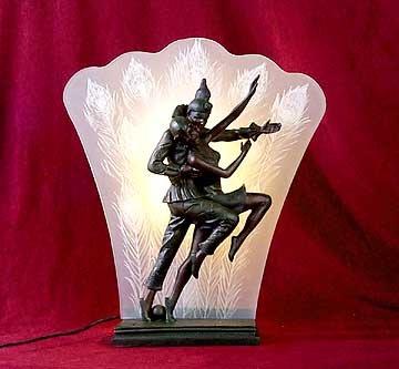 Dancing Clown Lamp - New