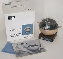 Aristo Gemini 7 Transistor Radio in Original Box