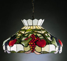 Tiffany Style Hanging Shade Lamp