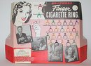 Hollywood Cigarette Ring Finger Store Display FULL