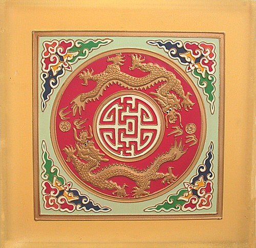 Chinese Wood Panel Tile