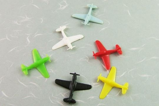 Plastic Airplane Gumball Toys