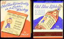 Blue Kentucky Matchbook