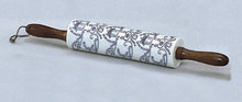 NEW PORCELAIN DUTCH KITCHEN ROLLING PIN