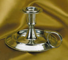 PEWTER CANDLESTICK HOLDER