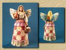 JIM SHORE ENESCO ANGEL WITH EGGS STATUE RETIRED