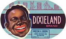 Dixieland Watermelon Label