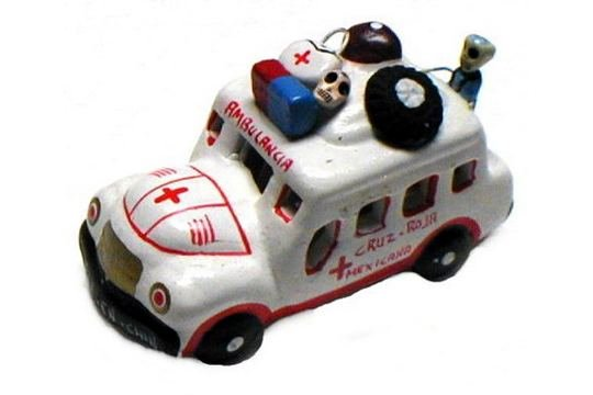 Day of the Dead Ambulance