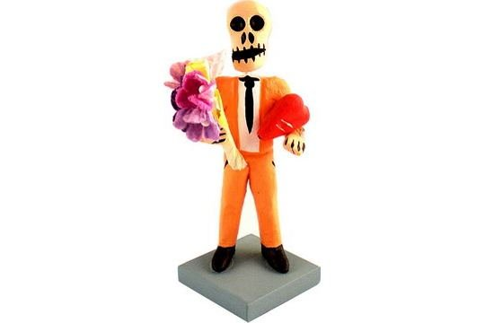 DAY OF THE DEAD LOVER FIGURE