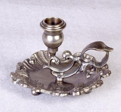 SILVER CANDLESTICK HOLDER STAND