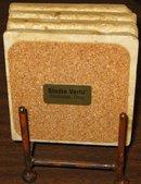 MARBLE WINE COASTERS - STUDIO VERTU ITALY