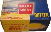 Pride of the West Butter Boxes