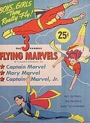 FLYING MARVELS COMIC PAPERDOLL TOYS