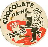 Chocolate Drink Milk Cap