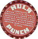 Hula Fruit Punch Soda Bottle Caps 1960s