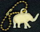 Celluloid Elephant Toy Charm