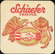Schaefer Beer Coaster
