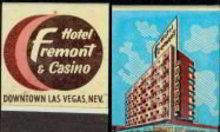 Fremont Las Vegas Matchbook