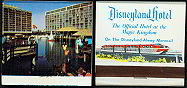 Disneyland Front Strike Matchbook Matches