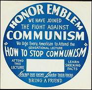Stop Communism McCarthy Poster