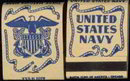 US Navy Matchbook from World War II