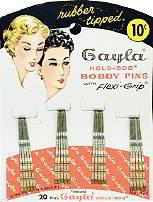 Gayla Bobby Pins Store hair Display