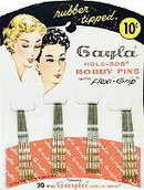 Gayla Bobby Pins Store hair Display