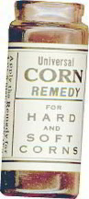 Corn RX Medicine Bottle