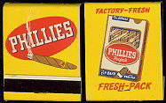 Perfecto Cigar Matchbook matches 1940s