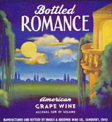 Bottled Romance Wine Label