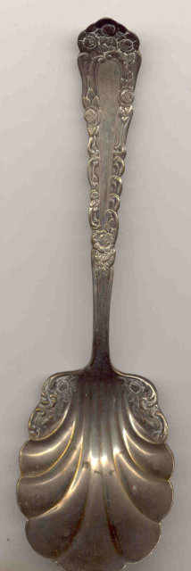 Royal Plate Silverplate Spoon -  Shell Serving