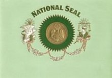 VINTAGE CIGAR LABEL - NATIONAL SEAL SUPREME