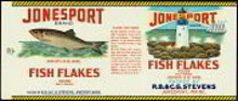 Jonesport Fish Label