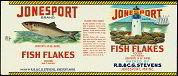 Jonesport Fish Label
