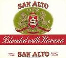 San Alto Cigar Box Label