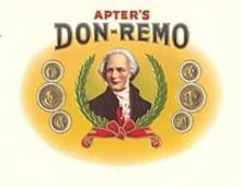 Apter's Don-Remo Cigar Label