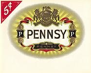 Pennsy Inner Cigar Box Label