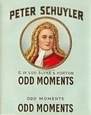 Peter Schuyler Odd Moments Cigar Label