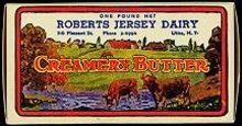 Roberts Jersey Butter Boxes