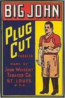 Big John Tobacco Plug Labels