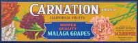 Carnation Grape Crate Label