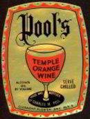 Temple Orange Wine Label
