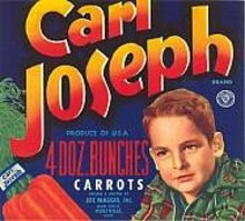 Carl Joseph Carrot Label