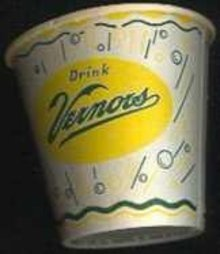 Vernors Soda Cup 1950s
