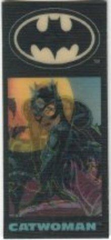 Batman Returns Flicker Cards Toys Catwoman